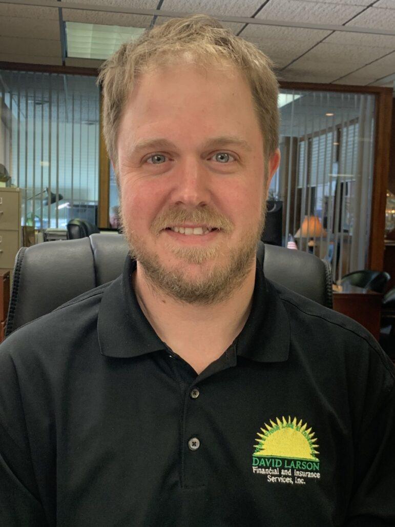 headshot of Matt Larson an agent on our team